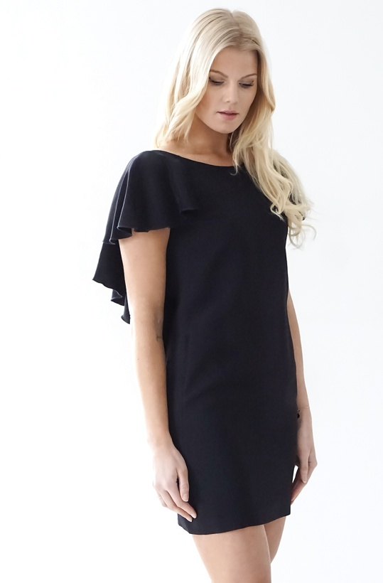 DONDUP - Dress with ruffles