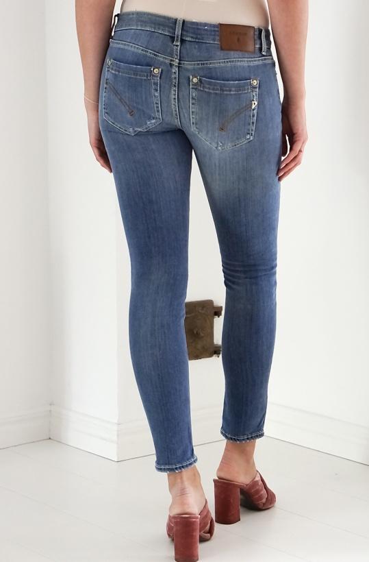 DONDUP - Mellanblå jeans