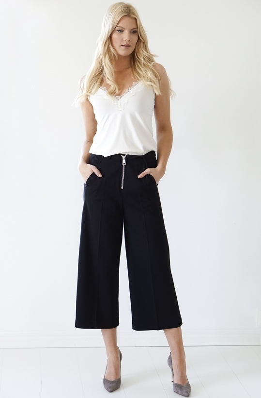 DONDUP - Cropped Black Pant