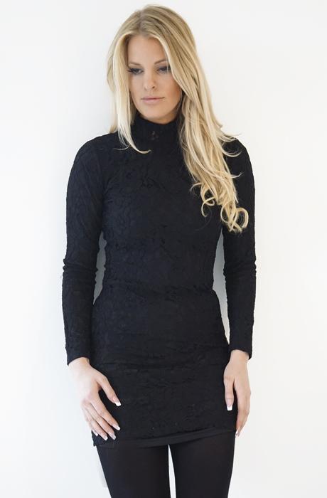 Dry Lake - Norna Dress Black Lace