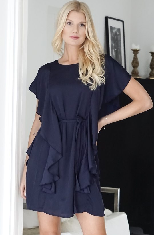 DRY LAKE - Sarah Dress Navy
