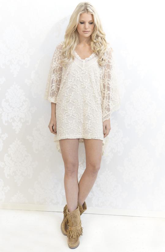 Plain Vanilla - Es Cavallet Lace Top