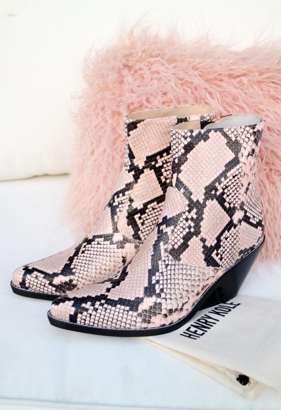 HENRY KOLE - Evie Snake Boot