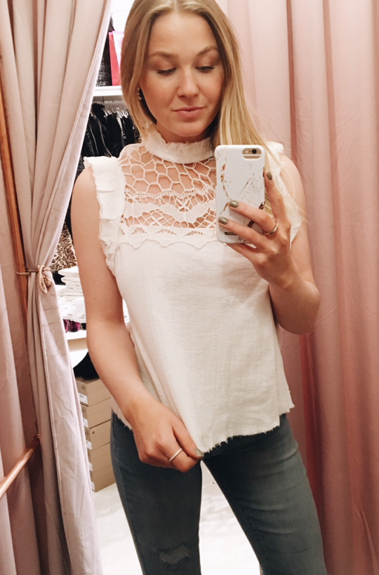FREE PEOPLE - Simply Smiles Crochet Top