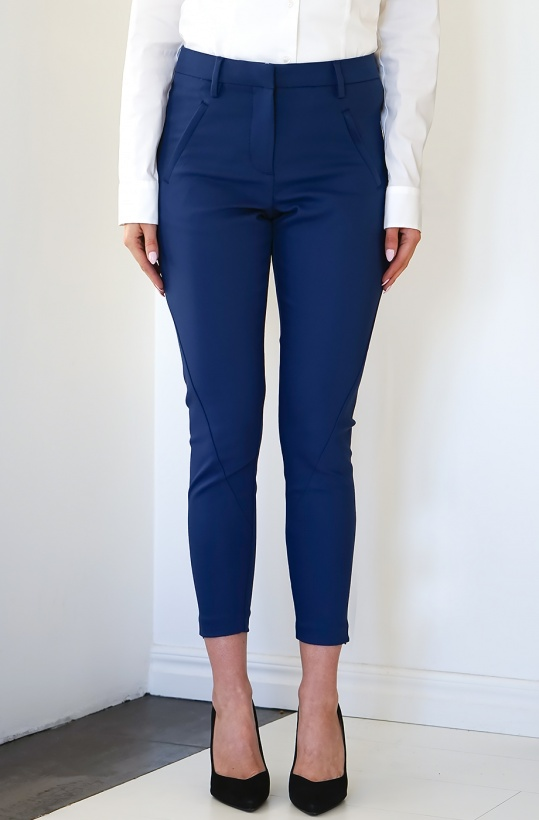 FIVE UNITS - Angelie Zip Pant Preussian Jeggin