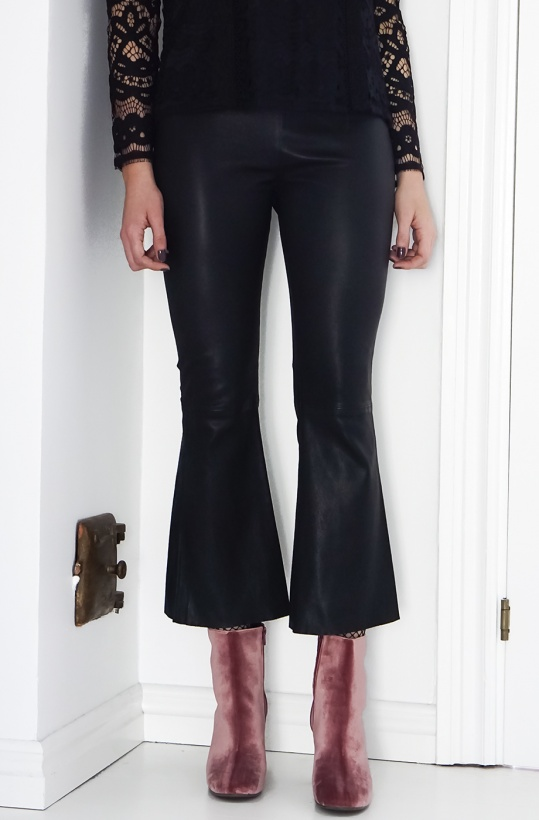 FIVE UNITS - LAYA Crop Stretch Leather Pant