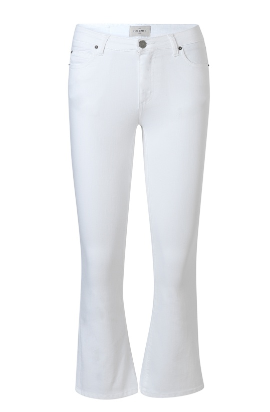 FIVE UNITS - Irina Cropped Jeans White