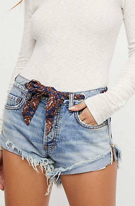 FREE PEOPLE - Relaxed Shorts