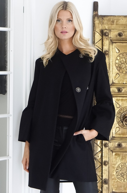 FRENCH CONNECTION - Belle Sleeve Coat