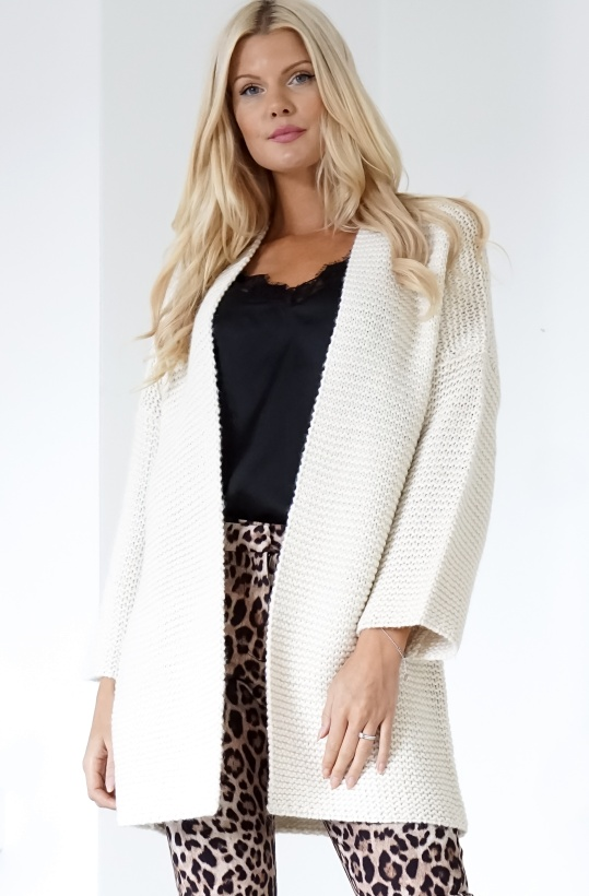 FRENCH CONNECTION - Classic Cream Cardigan