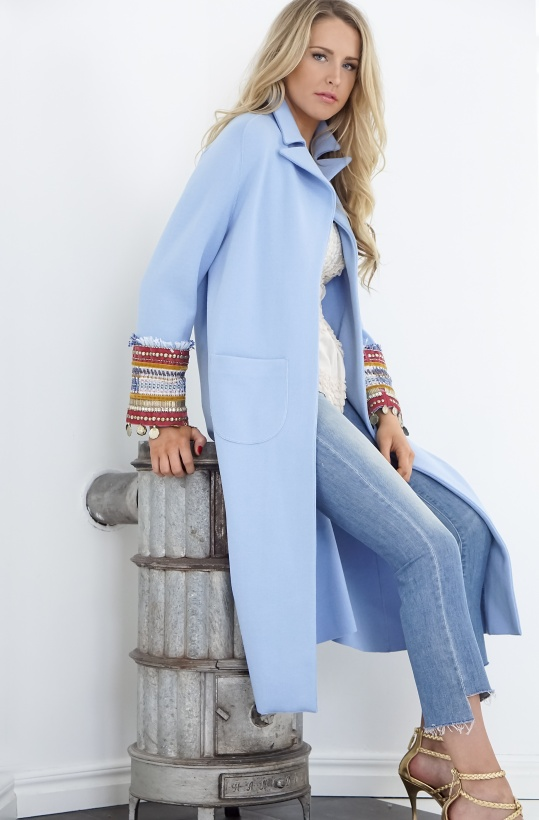 GIADA BENINCASA - Long Blue Coat