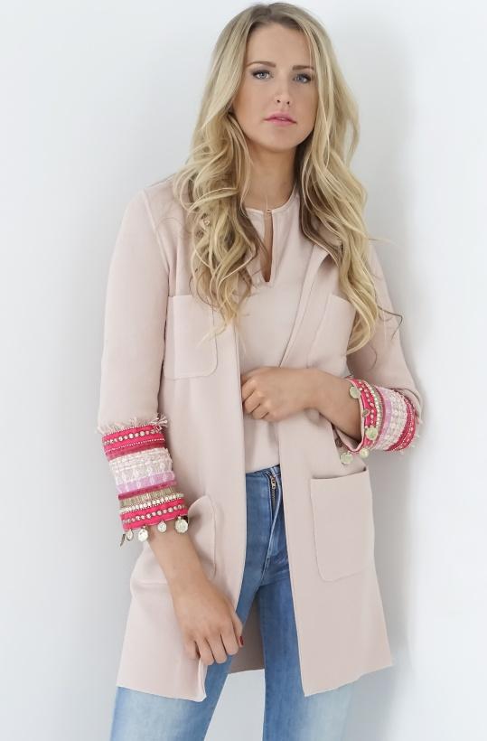 GIADA BENINCASA - Nude/Pink Jacket