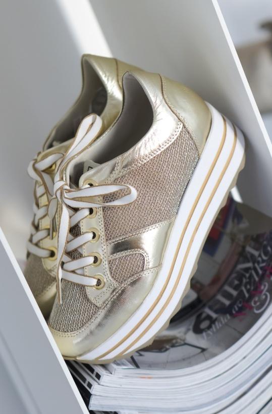 DL SPORT - Sneaker Guld Platå - Maj 2018