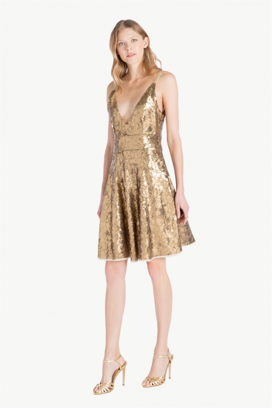 TWINSET - All over Sequins Dress