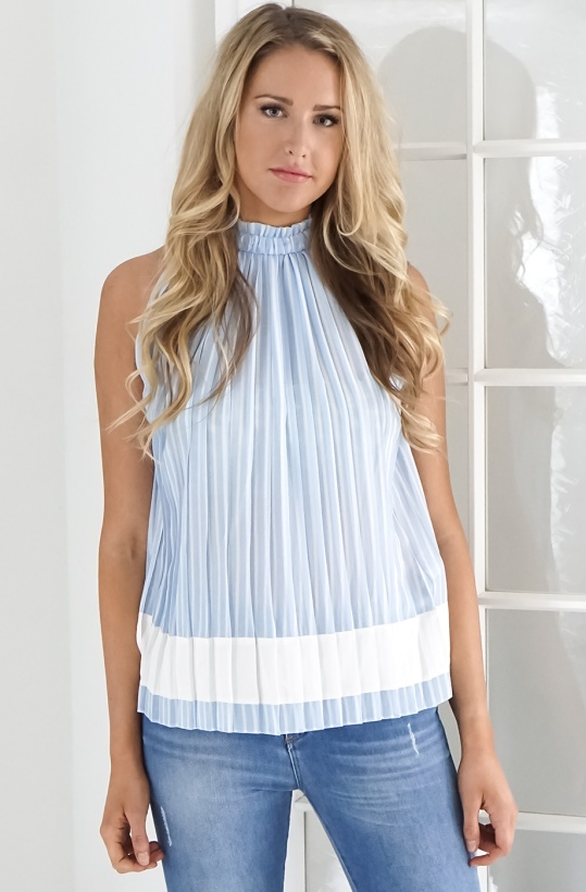 GUSTAV - Pleated Top