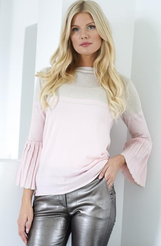 GUSTAV - Lurex Knit Pink