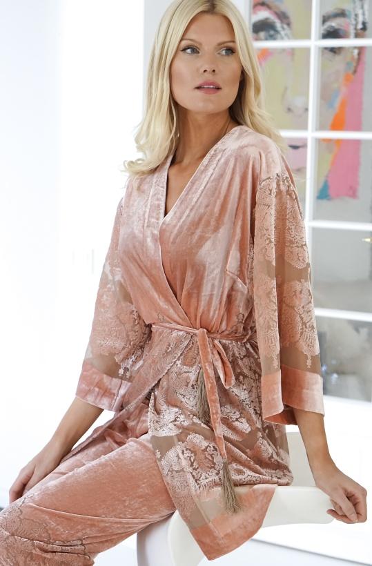 GUSTAV - Velvet Kimono