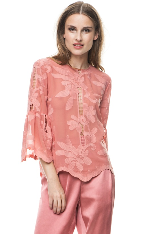 BY MALINA - Hiba Blouse Blush