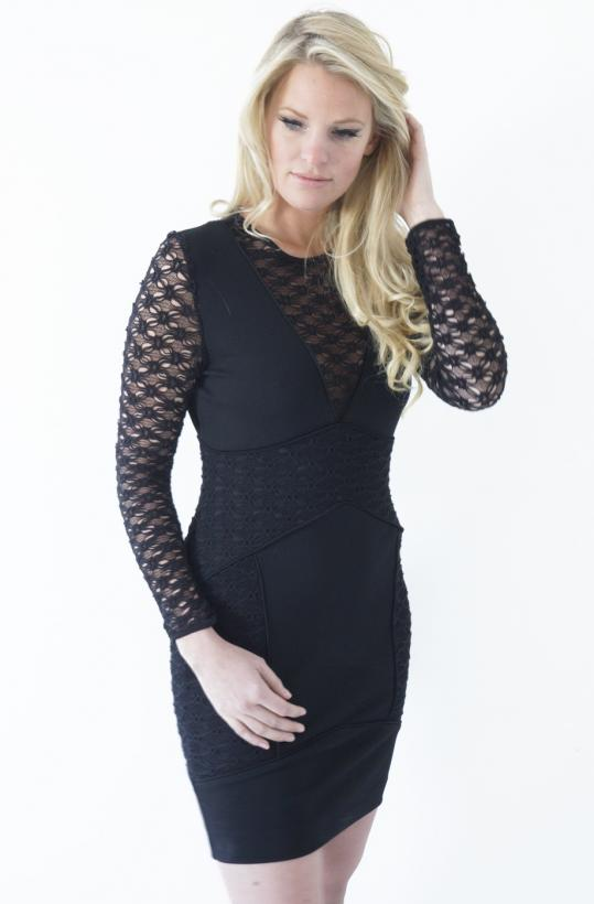 HOSS - Knitted Lace Dress