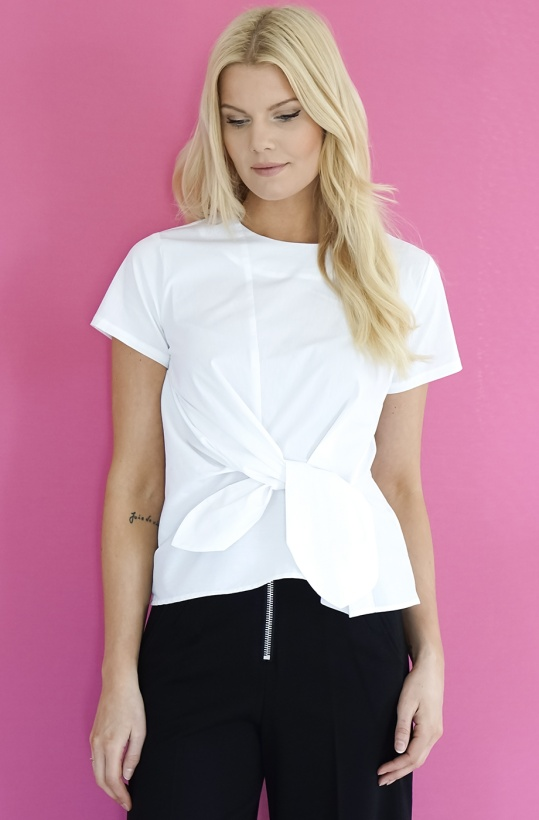 JUST FEMALE - Andy White Blouse