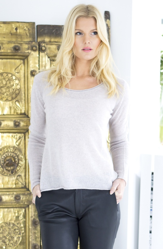 KNIT STOCKHOLM - Cashmere Long Sleeve Round Neck