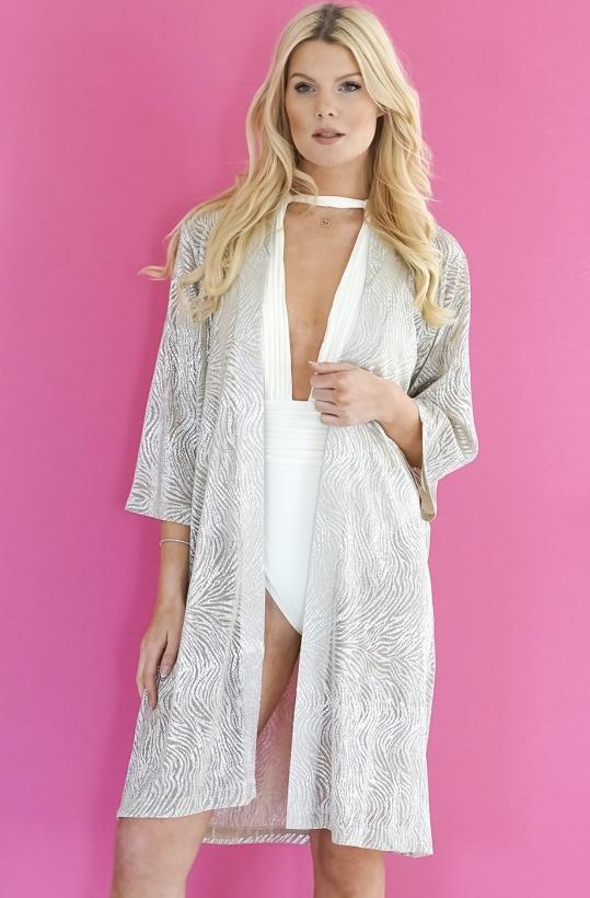 KARMAMIA - Kimono GoldSilver Limited Edition Mid