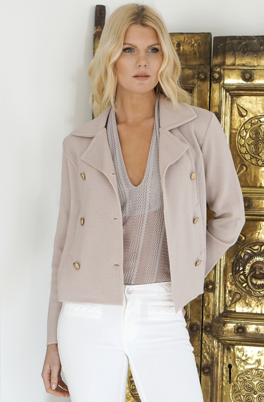 BUSNEL - INA jacket Pink