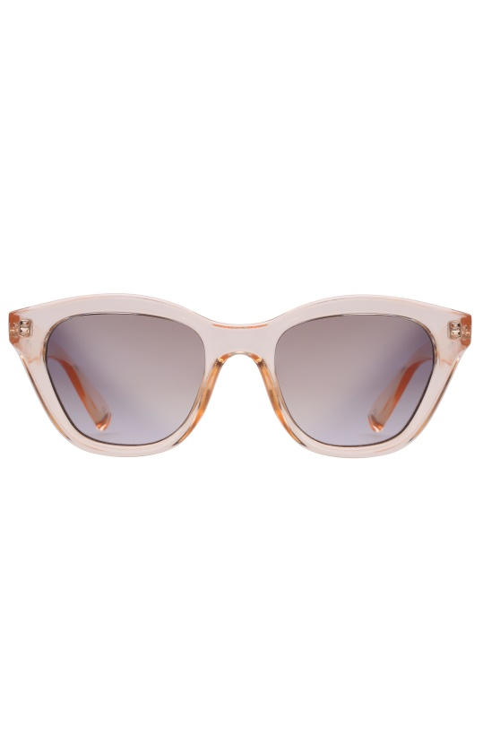 LE SPECS - Wannabae Crystal Blond/Smoke Gold