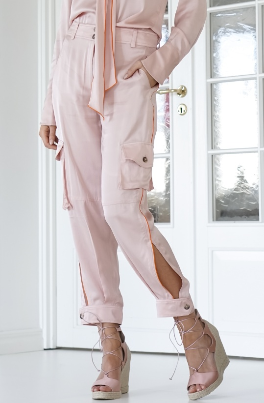 LALA BERLIN - Pink Cargo Pants