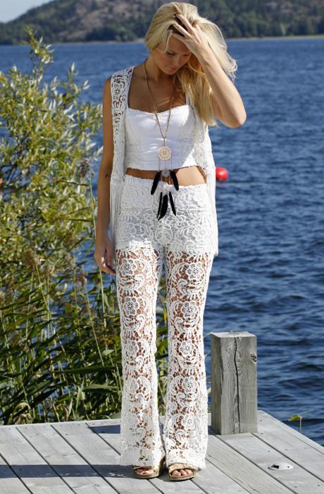 A Hippie Lace Pant