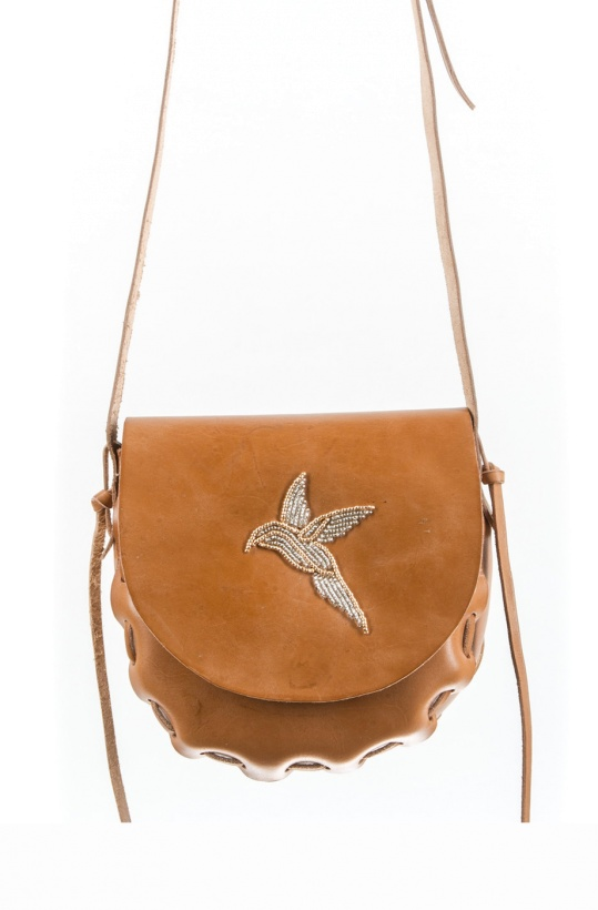 LAIDBACK LONDON - Bird Chunky Small Bag
