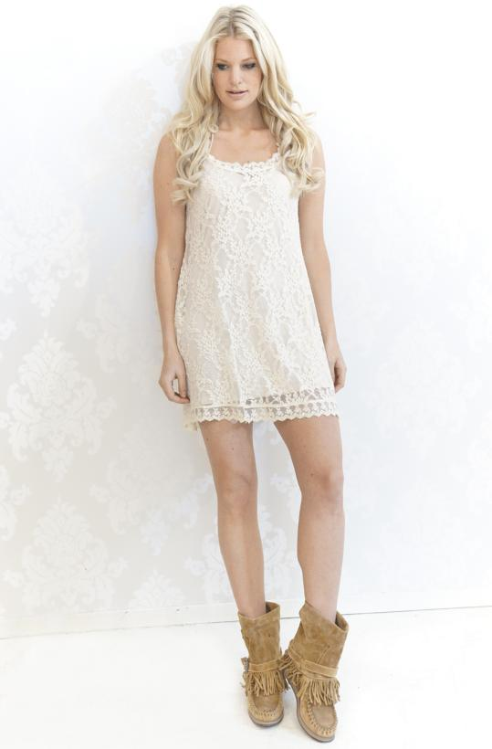 Plain Vanilla - Las Salinas lace dress
