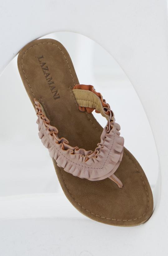 LAZAMANI - Flip Flop Ruffles
