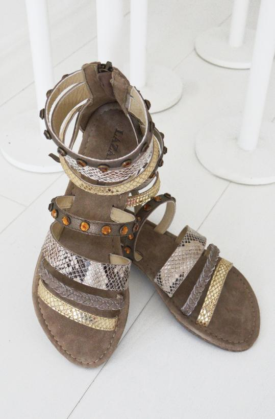 LAZAMANI - Sandal Multi High Snake