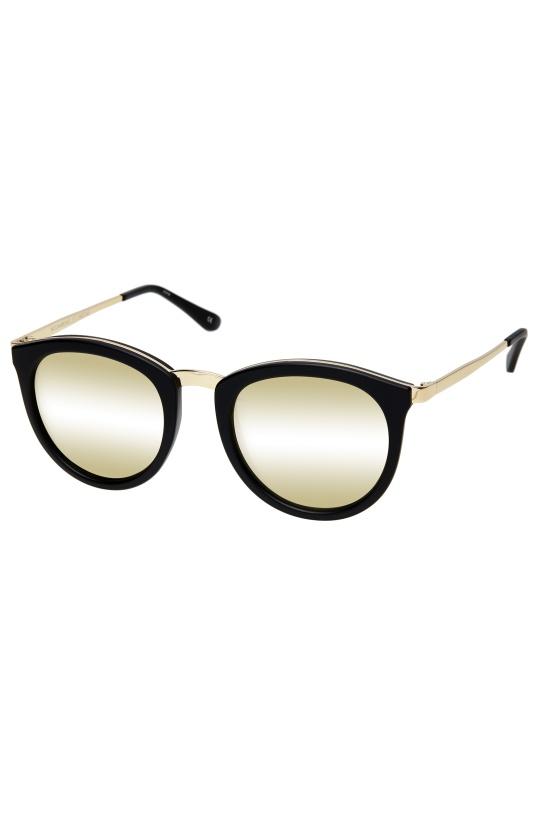 LE SPECS - No Smirking Black Gold  Mirror