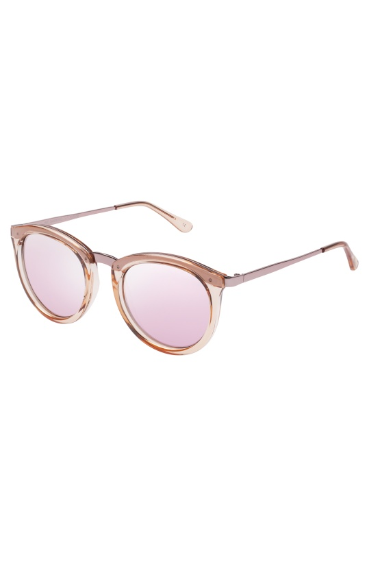 LE SPECS - No Smoking - Chrystal Rose/Revo Mirror