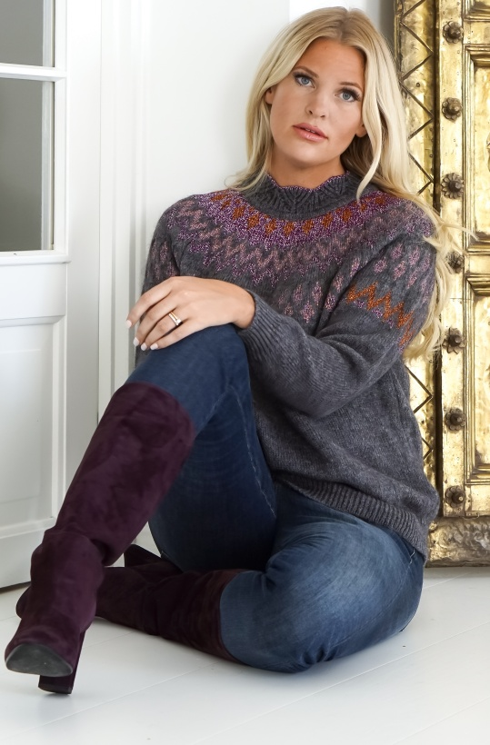 LEVETE - SWEATER CASMIRA