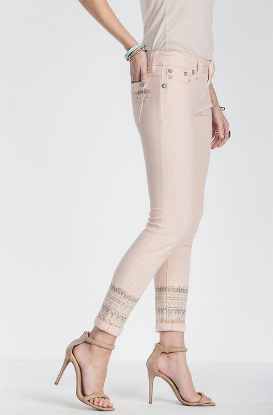 MISS ME - Bubbelgum Mid-rise Jeans