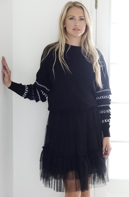 MOLLY BRACKEN - Sweater Star Knitted
