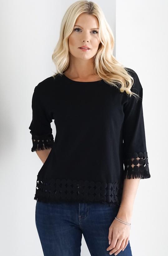 MOLLY BRACKEN - Ajoure Sweater
