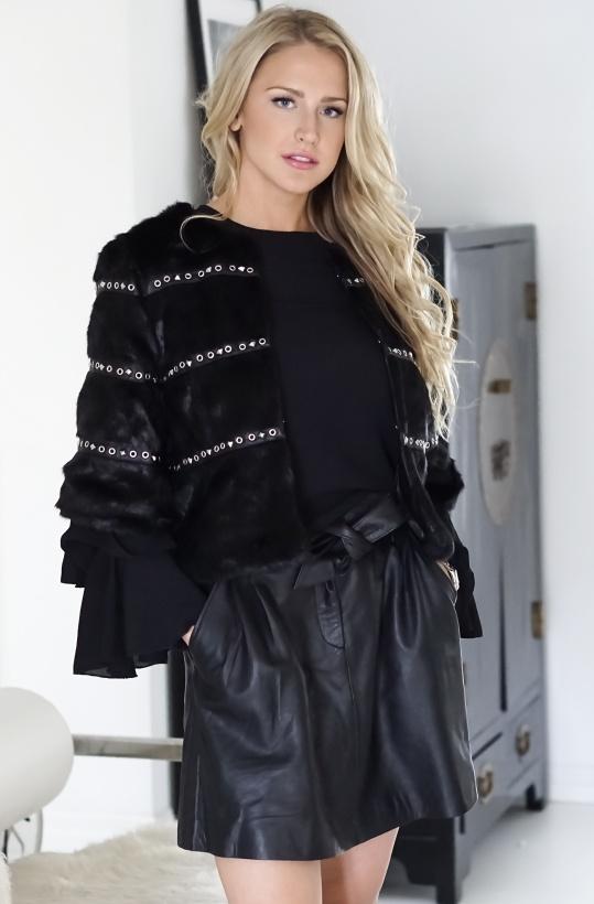 MOLLY BRACKEN - Fake Fur Jacket