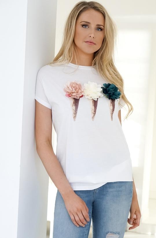 MOLLY BRACKEN - Ice Cream T-Shirt