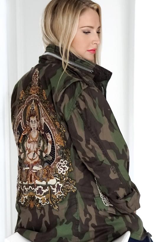 MUNDERINGSKOMPAGNIET - Royal Buddha Jacket Camo