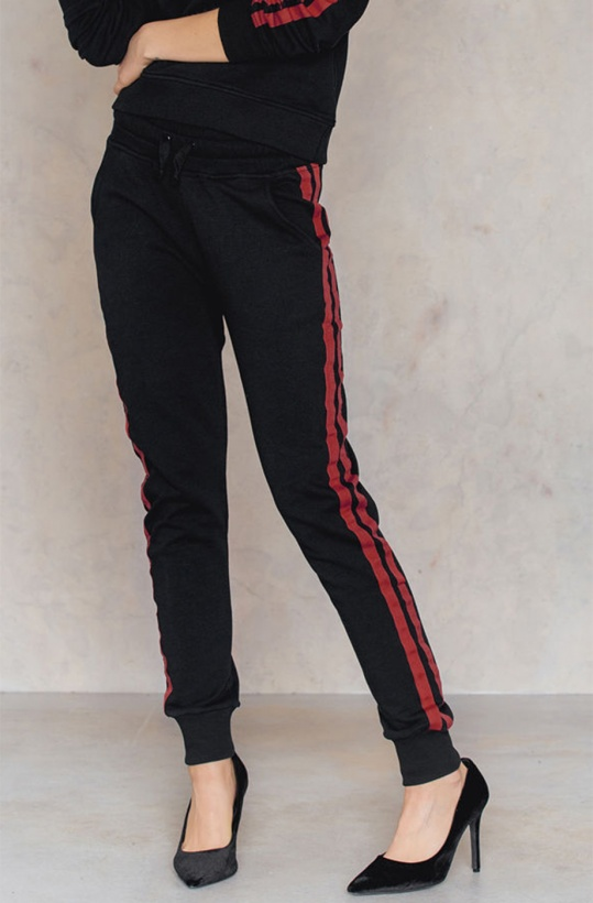 NA-KD - Basic Striped Sweatpants