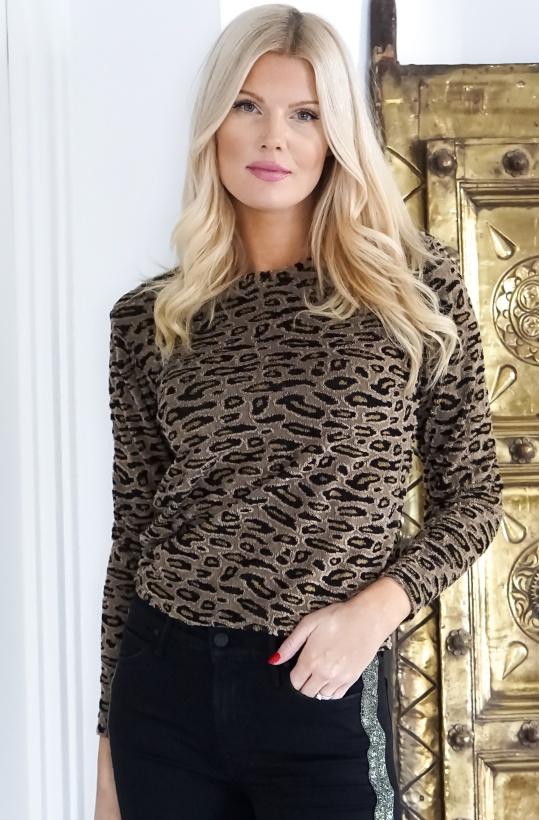 NA-KD - Leopard Print Sweater