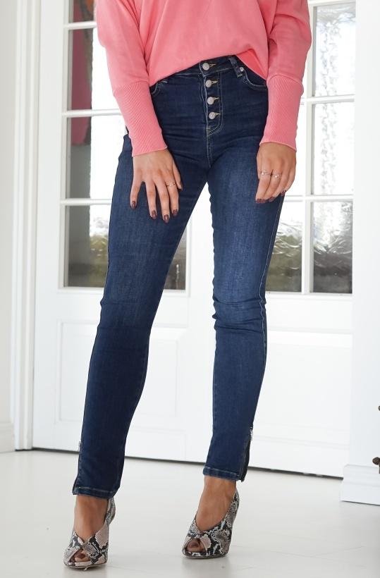 NA-KD - Skinny Zip Jeans