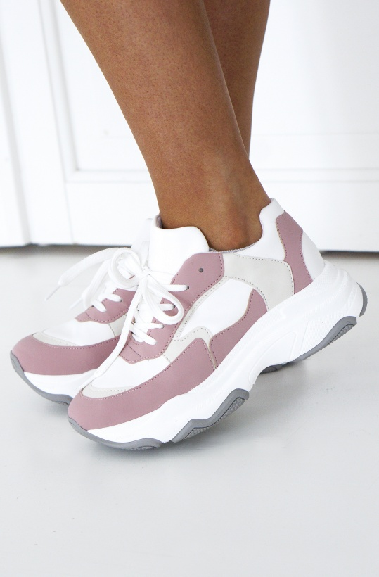 NA-KD - Pink Chunky Sneaker