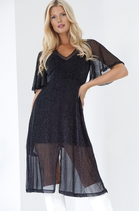 NA-KD - Sparkly Midi Dress