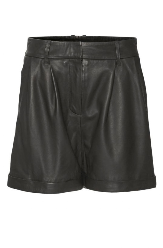 NORR - Naja Leather Shorts