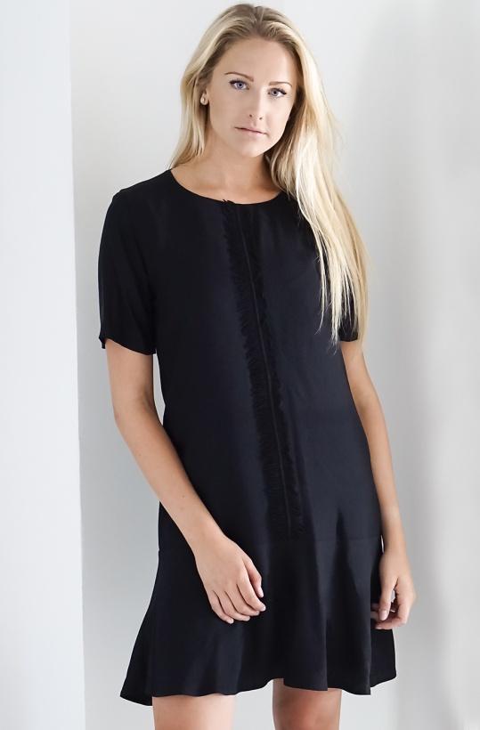 NADINE H - Frill Dress med Volang